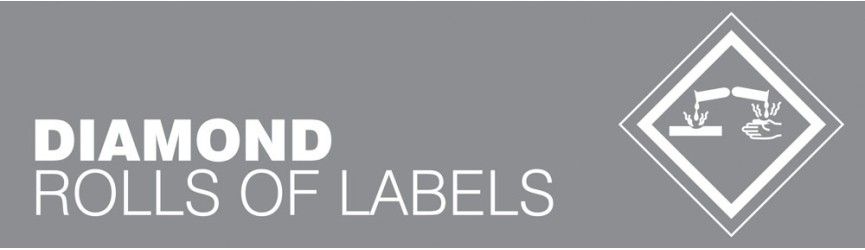 Hazardous Substance Diamond Labels