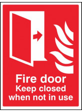 Fire door Keep closed when not in use