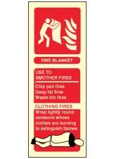 Fire Blanket Identification
