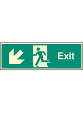 Exit - Down and Left