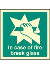 In Case of Fire Break Glass