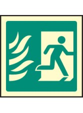 HTM Running Man Symbol - Right
