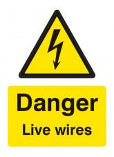 Danger Live Wires
