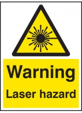 Warning Laser Hazard