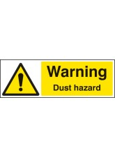 Warning Dust Hazard