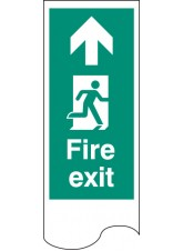 Door Plate - Fire Exit Right