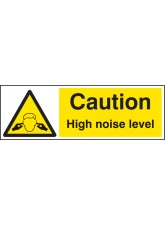Caution High Noise Level