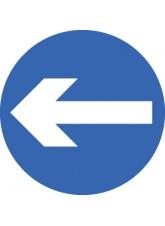 Direction Arrow Left/Right - Class RA1 - 600mm Diameter