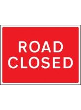 Road Closed - Class RA1 - 600 x 450mm