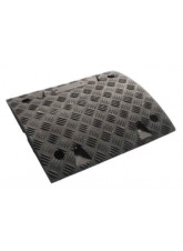 Speed Bump: 75mm Inner Segment Black HxWxD: 75 x 500 x 480mm with Fixings