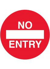 No Entry Floor Graphic