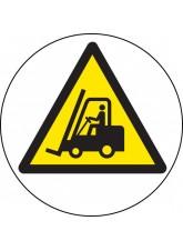 Forklift Truck - Floor Graphic