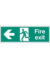 Fire Exit Left - Floor Graphic