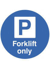 Floor Graphic - Forklift Parking