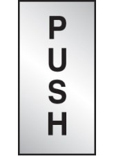 Push - Deluxe Engraved Effect