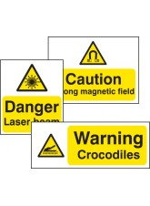 Standard Special Warning Sign - 5mm Foam PVC