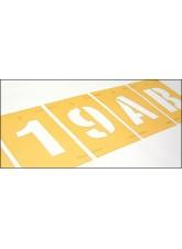 Stencil Kit - Numbers 0-9 - 300mm