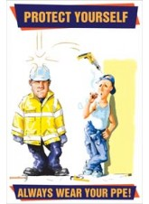 Always Wear Your PPE Poster