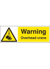 Warning Overhead Crane