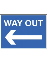 Way Out - Arrow Left