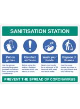 Sanitisation Station
