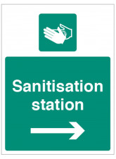 Sanitisation Station - Arrow Right