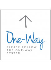 One Way - Arrow Up - Floor Graphic