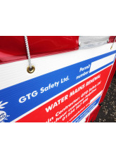 Courtesy Sign with Bungee Ties 810x610 Fluted Polypropylene