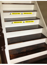 Mind Your Step - Self Adhesive Vinyl - 400 x 35mm
