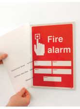 Fire Alarm 5 Zones - Adapt-a-Sign